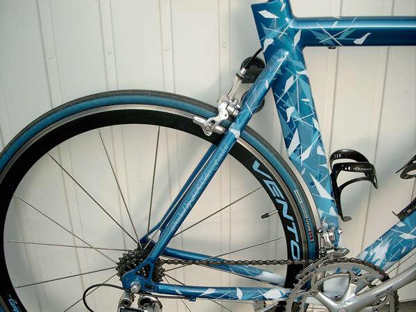 Kette und kettenblätter vom Fahrrad